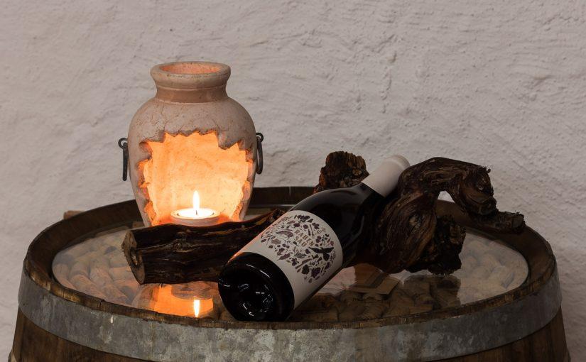 Accessoires für die Wein-Kathedralen unter Tage